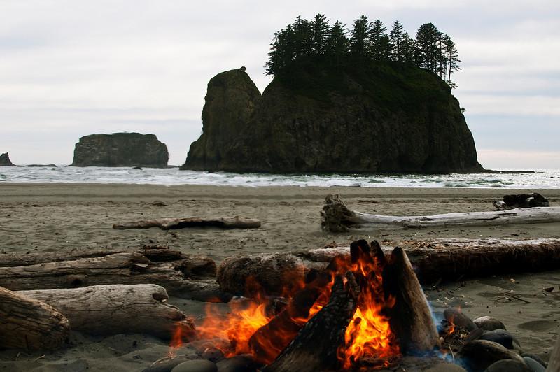 Second Beach, Olympia National Park, Washington.