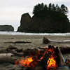 Second Beach, Olympia National Park, Washington.