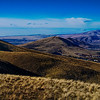 Rattlesnake Mountain from Badger Mountain, Kennewick, Washington.