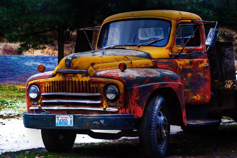 Old International Truck.