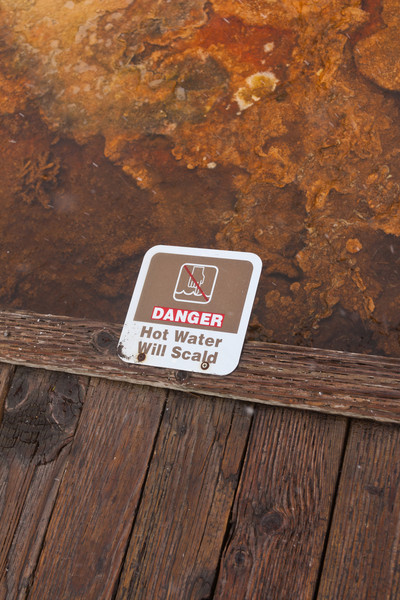 Danger - Hot Water Will Scald