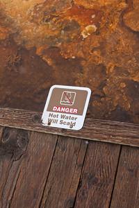 Danger - Hot Water Will Scald