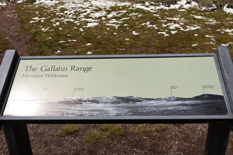 The Gallatin Range