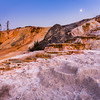 Mammoth hot springs / Yellowstone, USA