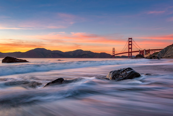 Golden Gate Sunset || San Francisco, CA