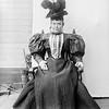 Mrs. Van Zant in hat