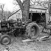 Foxlees Farm's shed, tractor & other equipment