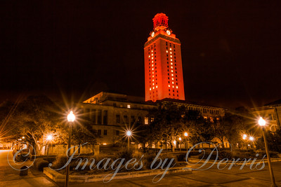 Texas Campus and UT Tower