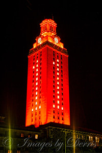 UT tower after national championship