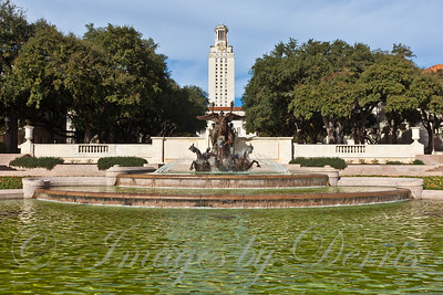 the Littlefield Fountain