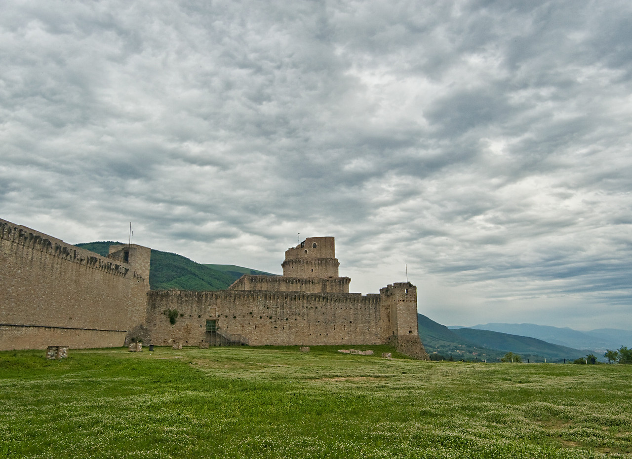 Rocca Maggiore, 12th c. castle/fort on hill over Assisi