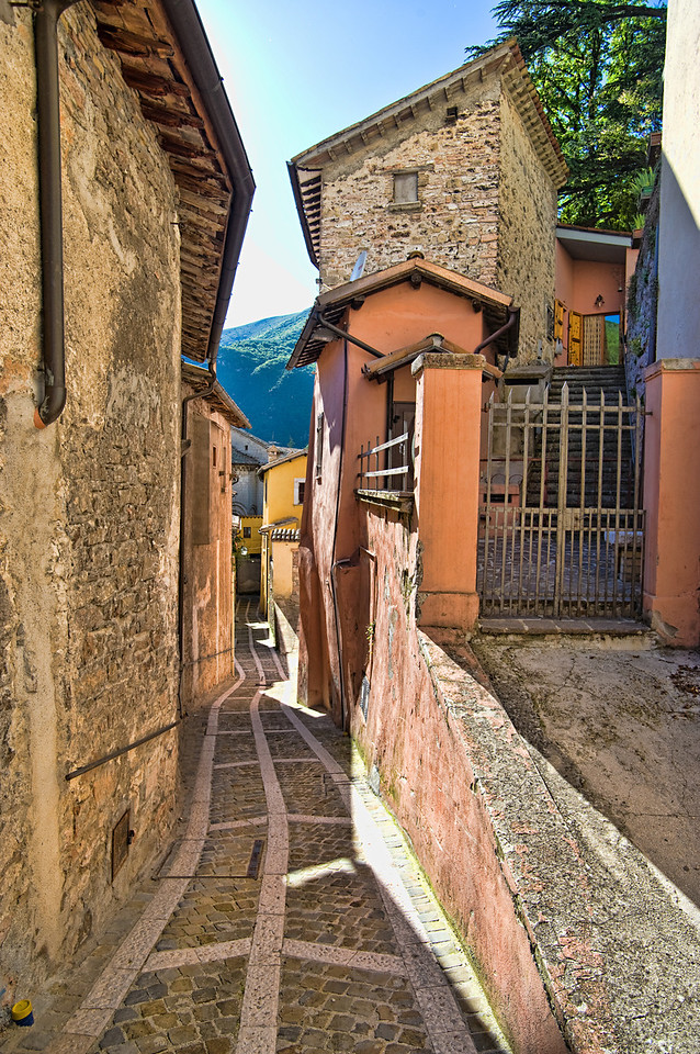 Alleyway in Visso