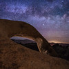 Mobius Arch Looking East with Milky Way, Alabama Hills, Lone Pine, CA