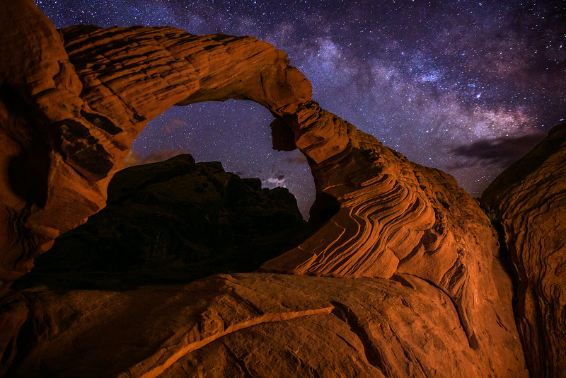 Arch Rock, Valley of Fire State Park, NV