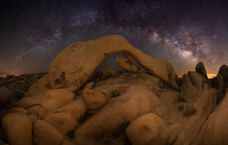 White Tank Arch and Milky Way, Joshua Tree National Park, CA