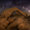 White Tank Arch and Milky Way, Joshua Tree National Park, CA