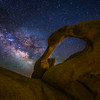 Mobius Arch and Milky Way 2, Alabama Hills, Lone Pine, CA