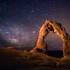 Delicate Arch and Milky Way 2