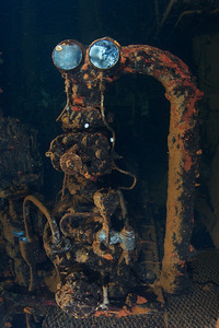 Unknown pump deep inside the Rio De Janeiro Maru.