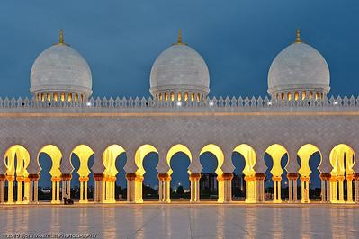 Sheikh Zayed Bin Sultan Al Nahyan Mosque, Abu Dhabi, UAE