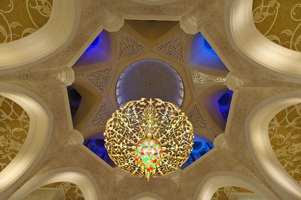 Sheik Zayed Grand Mosque  interior