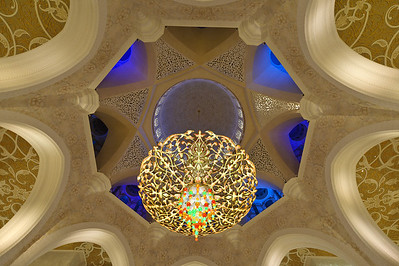 Sheik Zayed Grand Mosque  interior