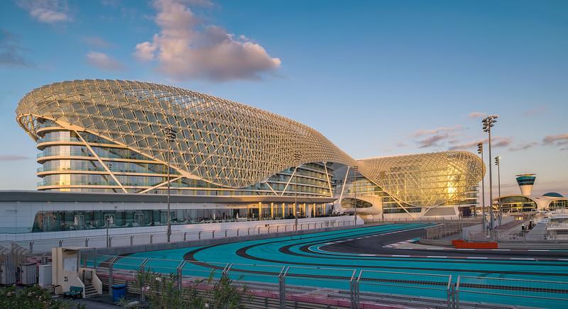 Yas Viceroy Abu Dhabi Hotel, UAE