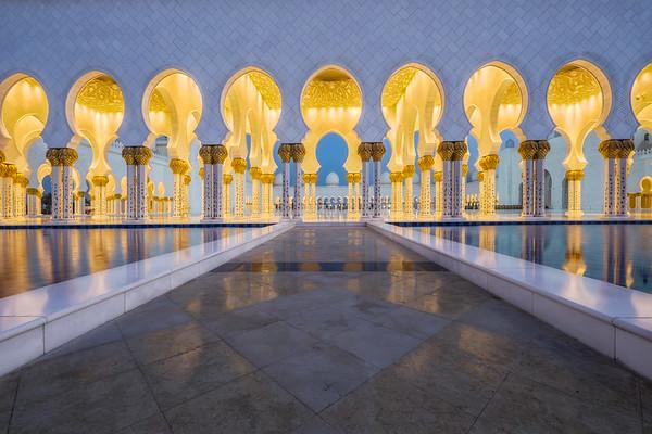 Way to the Mosque, Abu Dhabi