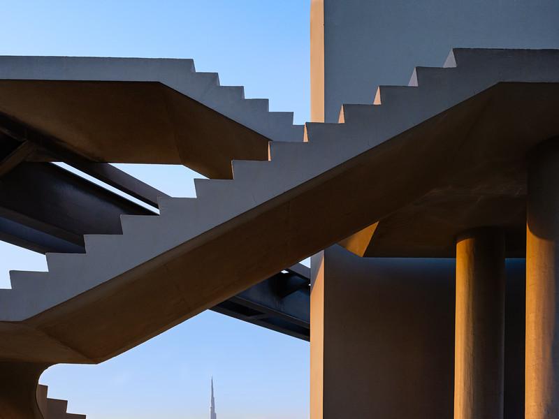 Steps to nowhere, Meydan, Dubai
