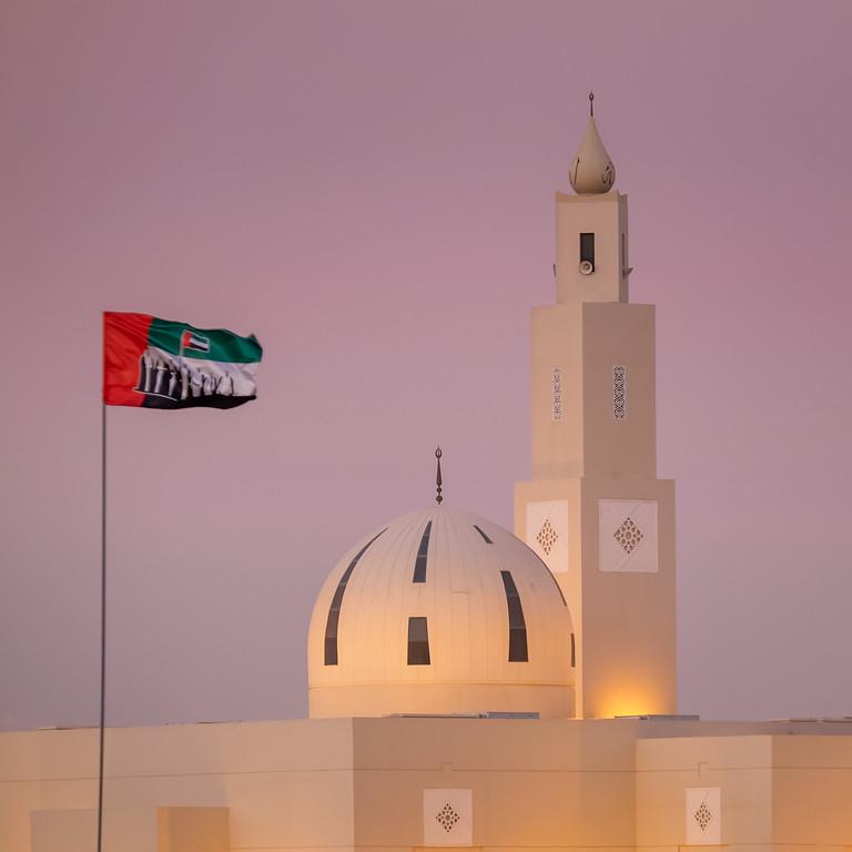 Mosque at Al Marmoum Camel Race track