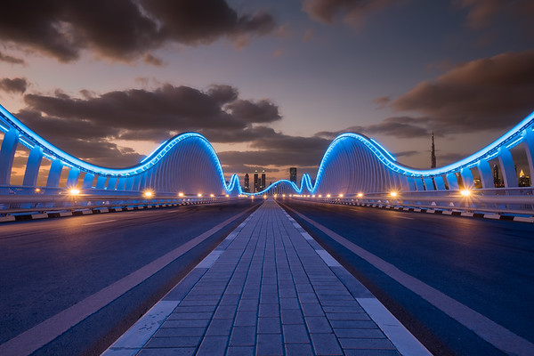 Meydan Bridge, Dubai