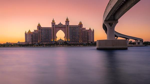 Atlantis hotel, Palm Jumeirah, Dubai