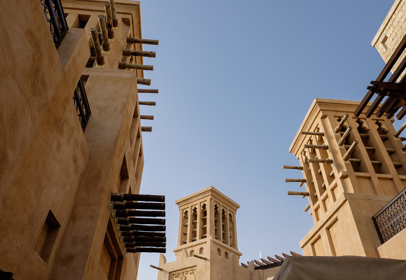 Windtowers at Madinat, Dubai