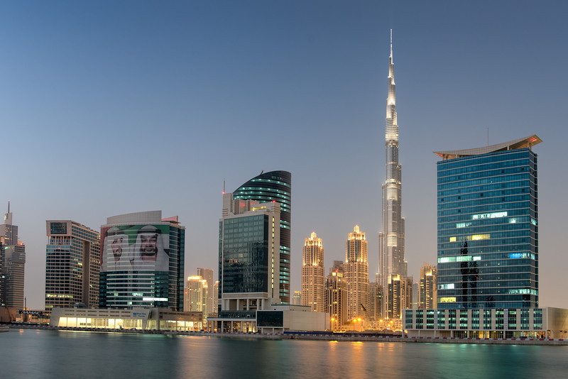 2013 Pic(k) of the week 40: Blue hour Dubai skyline