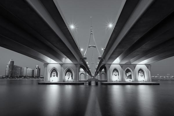 Under the bridge - Business Bay bridge, Dubai