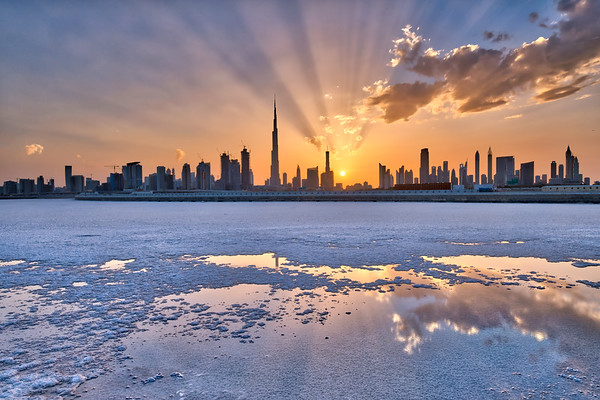 After the snow, Dubai