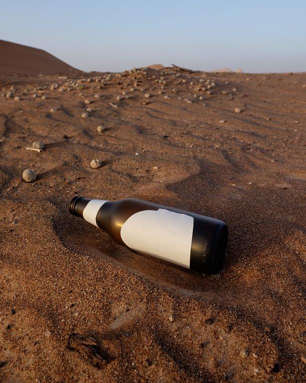 The non-branded desert bottle