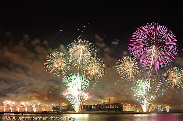 Atlantis Hotel opening Fireworks