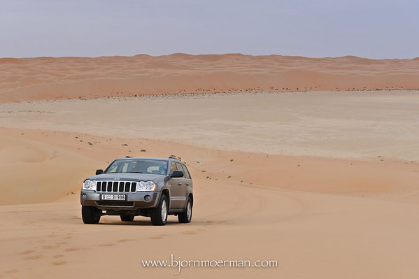 Driving through the Empty Quarter