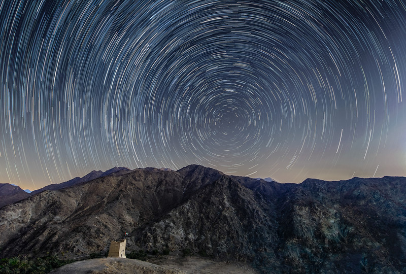 Shooting for the stars - Star trails in the UAE