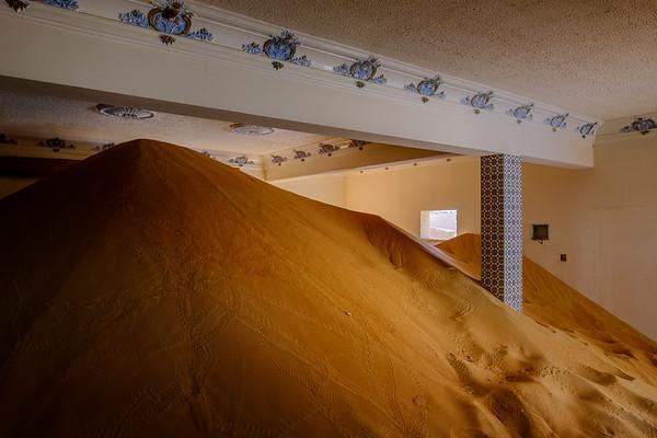 When the desert is taking over