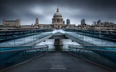 St. Paul's Bridge 02 - London - United Kingdom