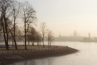 Foggy autumn...