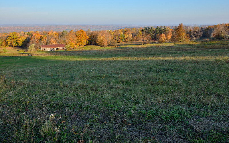 Looking west into the Genesee Valley north of Fillmore.  Nikon D600 (October 2012).
