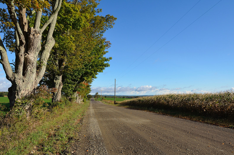 North of Wiscoy. New York.  Nikon D5100 (September 2012).