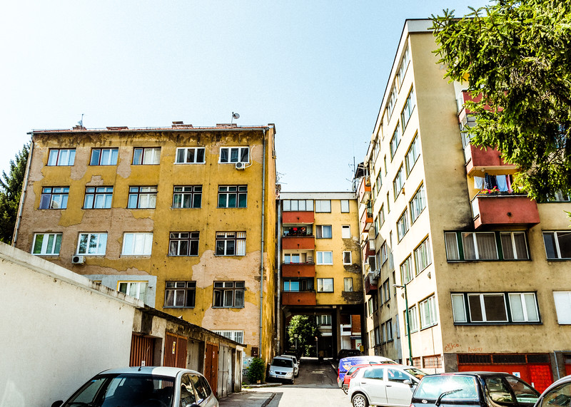 Apartment Blocks of Mostar