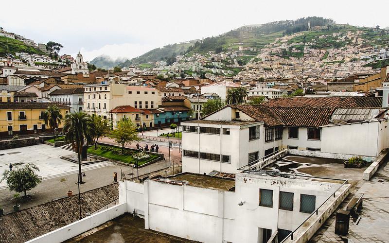 The Hills of Quito, Ecuador