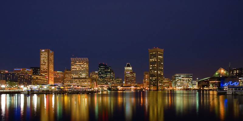 Baltimore from Inner Harbor