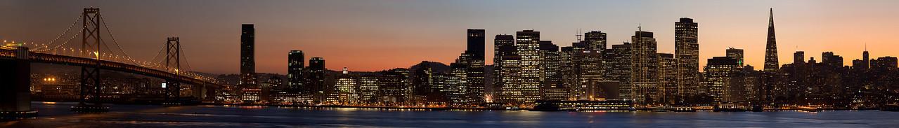 San Franscisco from Yerba Buena Island