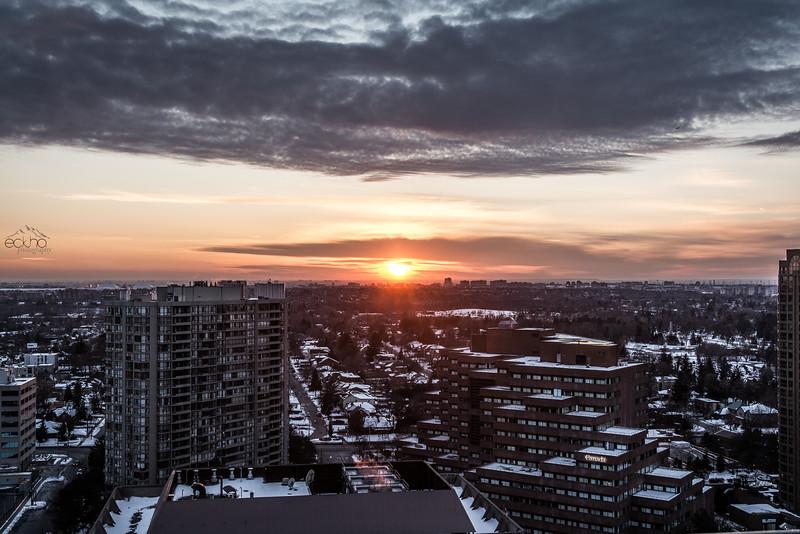 Sunrise on the Sky Line